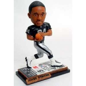 Jerry Porter Ticket Base Forever Collectibles Bobblehead