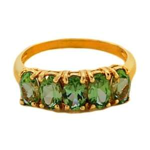 10kt Yellow Gold Peridot Ring Alicias Jewelers Jewelry