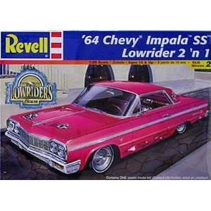 1964 Chevy Impala Lowrider 2n1 Model Kit by Revell Toys & Games