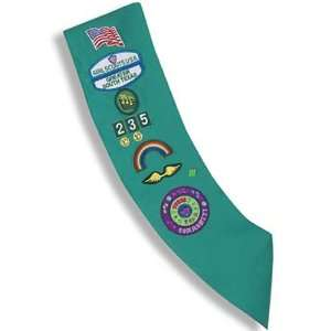 Junior Girl Scout Sash Sports & Outdoors