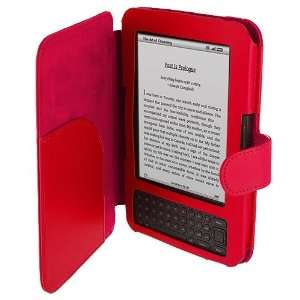 Folio PU Leather Case Cover Pouch New for  Kindle Keyboard 3G