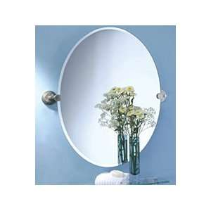Gatco Marina Large Oval Bathroom Wall Mirror