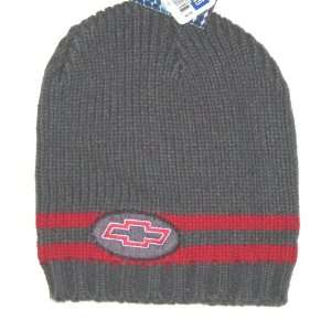 Chevrolet Chevy Logo Knit Beanie Hat: Sports & Outdoors