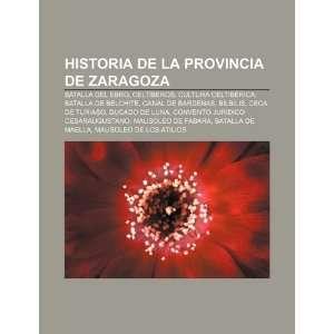 Historia de la provincia de Zaragoza Batalla del Ebro