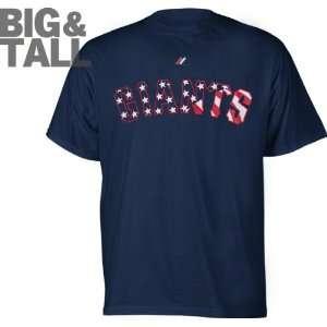 Giants Big & Tall Stars And Stripes T Shirt