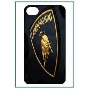 Lamborghini iPhone 4 iPhone4 Black Designer Hard Case Cover Protector