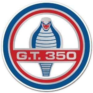 Ford Mustang Gt 350 Logo Cobra Car Bumper Sticker Decal 4
