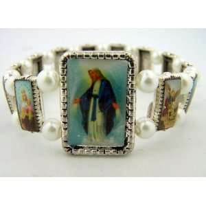 Of Grace Devotional Saints Bracelet 13 Icons Religious Gift Jewlery