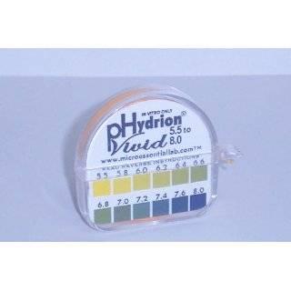 Ph Test Strips Dispenser   .2 Intervals for Accurate Saliva or Urine