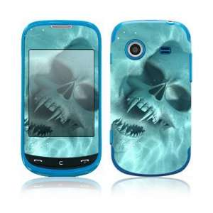 Underwater Vampire Skull Decorative Skin Cover Decal