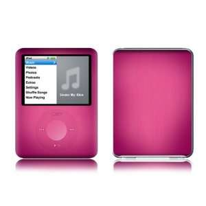 Pink Burst Design Protective Decal Skin Sticker for Apple