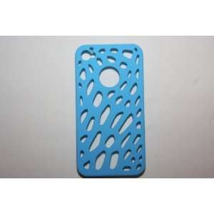 Blue Mesh Net Apple iPhone Case Cover for iphone 4 4G
