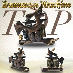 1 pc Tattoo Machine Gun Top High Quality Damascus Machine
