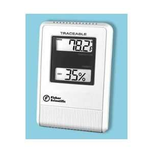 Lab Traceable Hygrometer Digital LED Dual Scale Ea By Troy Biologicals