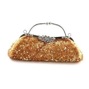 Fashion Glass Bead High End Quality Clutch Bag Evening Bag