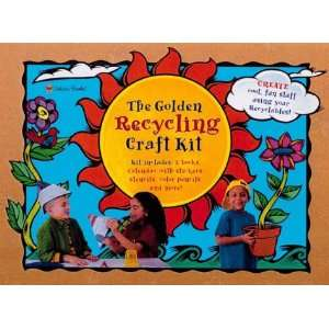 The Golden Recycling Craft Kit with Book(s) and Sticker