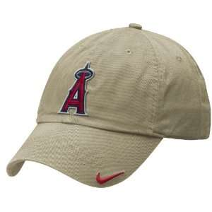 Los Angeles Angels Khaki Adjustable Stadium Baseball Cap