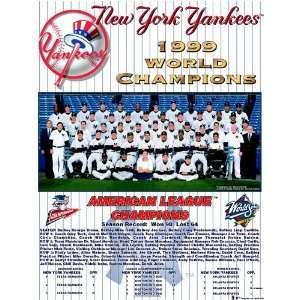 New York Yankees    World Series 1999 New York Yankees    13 x 16