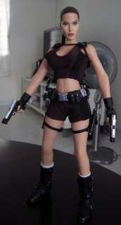 HeadPlay Angelina Jolie 1/6 Figure Head Sculpt Lara Croft Tomb Raider