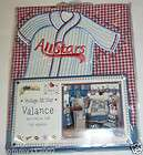 All Star TAB TOP VALANCE sports baseball soccer football NEW OP