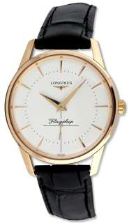 Flagship Automatic 18k Solid Rose Gold Mens Watch L4.746.8.72.0