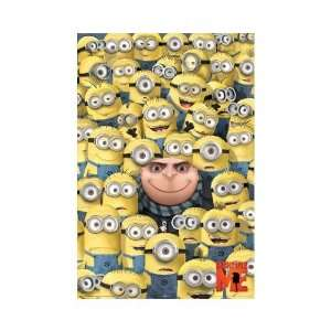 Despicable Me Poster Yellow Minions