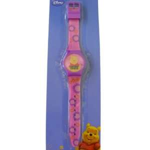 Pooh Watch   Flowers and Sunshine Pooh LCD Digital Watch Toys & Games