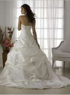 2012 Wedding Dress Bridal Gowns Prom Ball Gown Evening Dresses White