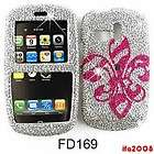 FOR SAMSUNG R355C STRAIGHT TALK R350 FREEFORM CRYSTAL PINK BADGE CASE