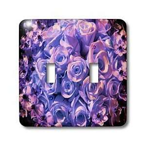 Roses and Valentines Day Florals   Purple Pink Antique Roses   Light