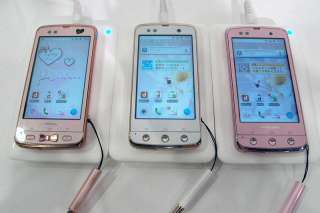 docomo fujitsu f 03d arrows kiss smart phone elegant ladies girls