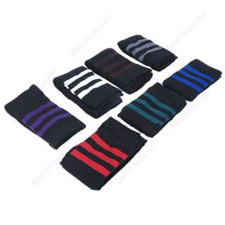 Thigh High Sock Stripe Over Knee Legging Socks Girls Womens Stripe