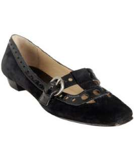MICHAEL Michael Kors Michael black suede Emily t strap loafers