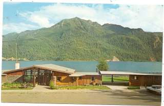 Log Cabin Resort & Trailer Park Rte1 Port Angeles WA PC