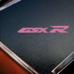 Suzuki Pink Decal GSXR 600 Car Truck Bumper Window Pink Sticker
