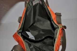 Ralph Lauren RRL ARMY Canvas Nylon Messenger Tote Bag