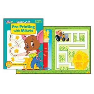 ENTERPRISES INC. PRE PRINTING/MAZES 28PG WIPE OFF