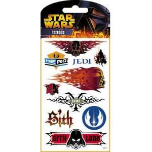 Star Wars Episode III Tattoos   Packet 1 Toys & Games