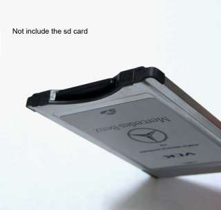 NEW Original Mercedes Benz PCMCIA TO SD PC CARD ADAPTER Support SDHC