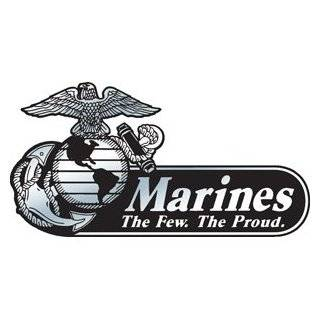 Marine Corps   Eagle Globe & Anchor BLACK USMC Car Decal