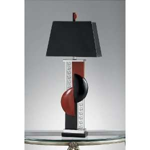 Murray Feiss Jazz Club lamp   Black/Red