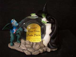 WOZ WICKED WITCH FLYING MONKEY PICTURE FRAME MIB #A3951