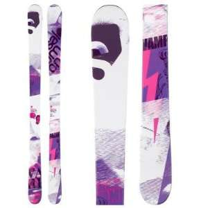 Salomon Vamp Park Skis Womens 2012   161 Sports