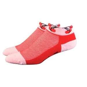 DeFeet Womens Cush Speede Cherries Cycling/Running Socks