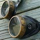 Goggles Glasses lens Victorian biker pirate Aviator motorcycle Bkgldcl
