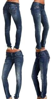 New Womens Rock Revival Jeans SORA S4 RJ8266S4 Swarovski in Fleur De