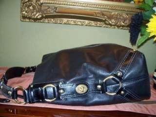 COACH XTRA LARGE ORIGINAL CARLY BAG~BLK LEATHER ~#10616 BIG