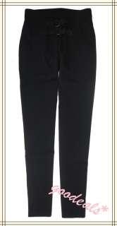 Sweat Pants Women Elastic High Waisted Pants Trousers #007