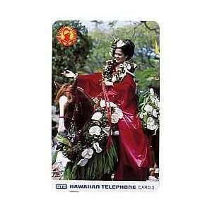 Collectible Phone Card 3u Aloha Festival Week Parade 1991