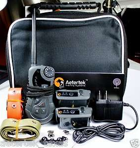 AETERTEK ELECTRIC REMOTE DOG PET TRAINING VIBRATE SHOCK COLLAR AUTO